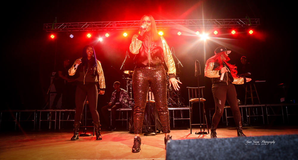 SWV performed in Danville for the 2016 festival.